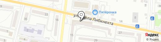 Индюшкин на карте Ревды