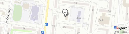 Отдел военного комиссариата Свердловской области по г. Ревда на карте Ревды