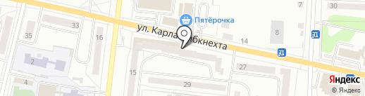 Мастерская по ремонту обуви на карте Ревды