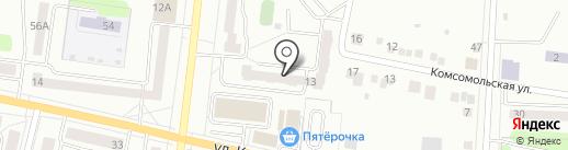 Элита Трэвэл на карте Ревды