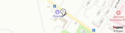 РОСС МОТОРС на карте Нижнего Тагила