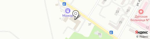 ПрофТранс на карте Нижнего Тагила