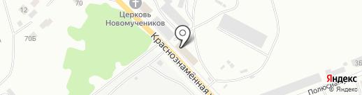 ЧМЗ-НТ на карте Нижнего Тагила