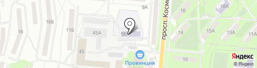Детский сад №12 на карте Первоуральска