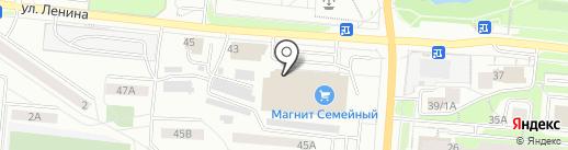 Мегамарт на карте Первоуральска