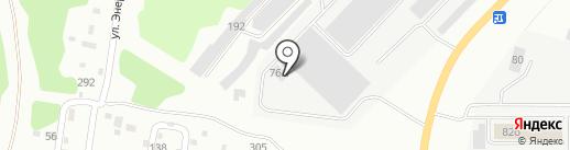 Автомойка на Черноисточинском шоссе на карте Нижнего Тагила