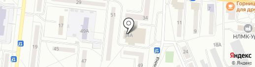 Столет на карте Ревды