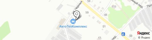 Автотехкомплекс на Тагильской на карте Нижнего Тагила