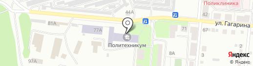 Академия безопасности предпринимательства, ЧОУ на карте Первоуральска