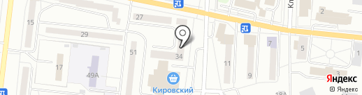 Тронэр на карте Ревды