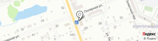 Почтовое отделение №8 на карте Нижнего Тагила