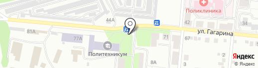 Сударушка на карте Первоуральска