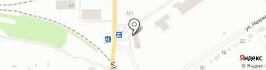 Почтовое отделение №4 на карте Ревды