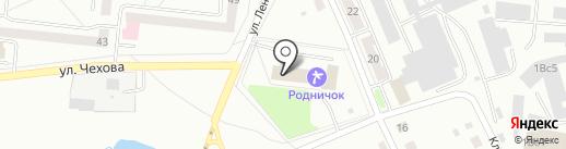 Тренажерный зал на ул. Чехова на карте Ревды