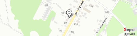 Завод Кровля на карте Нижнего Тагила