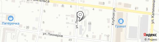 Пионер на карте Ревды