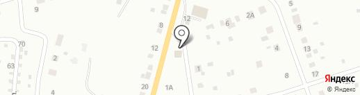 Горбуновское на карте Нижнего Тагила