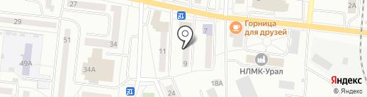 Магнит на карте Ревды