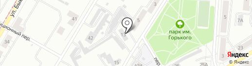 Городская управляющая компания, МУП на карте Нижнего Тагила