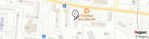 Специальная библиотека для слепых на карте Ревды