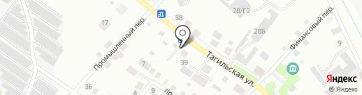 Новострой-НТ на карте Нижнего Тагила