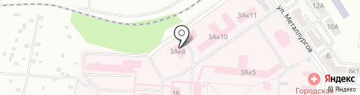 Первоуральская городская больница на карте Первоуральска