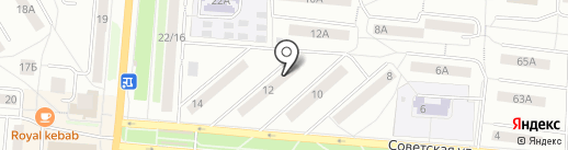 Юр-911 на карте Первоуральска