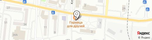 Горница для друзей на карте Ревды