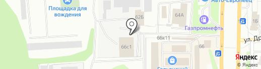 Салон-магазин печей и каминов на карте Нижнего Тагила
