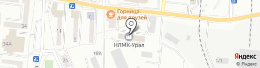 Завод НСММЗ на карте Ревды