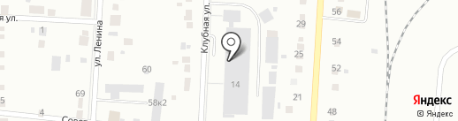 Горбушка на карте Ревды