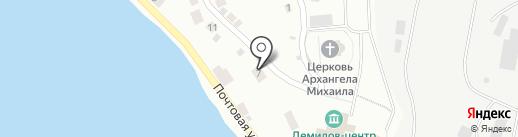 Светоч на карте Ревды