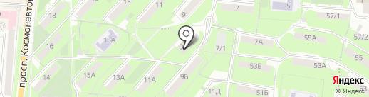 Банкомат, ВТБ Банк Москвы, ПАО Банк ВТБ на карте Первоуральска