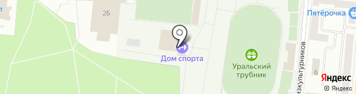 Zvezda96.ru на карте Первоуральска