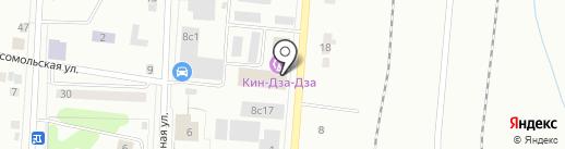 Кин-Дза-Дза на карте Ревды
