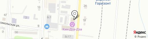 Каре на карте Ревды