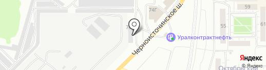 KochChemieNT на карте Нижнего Тагила
