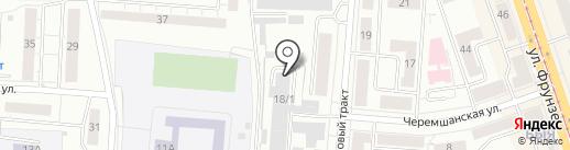 БизБренд-НТ на карте Нижнего Тагила