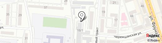 Элефант на карте Нижнего Тагила