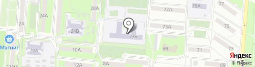 Средняя общеобразовательная школа №3 на карте Первоуральска