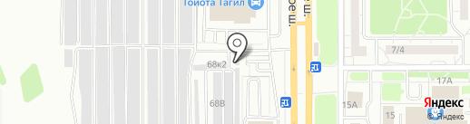 Аргон-Сервис на карте Нижнего Тагила