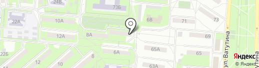 Домашний Уголок на карте Первоуральска