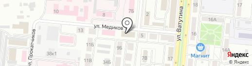 Мировые судьи на карте Первоуральска