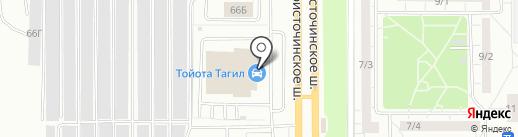 ЭниМоторс на карте Нижнего Тагила