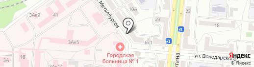 Уралнет на карте Первоуральска