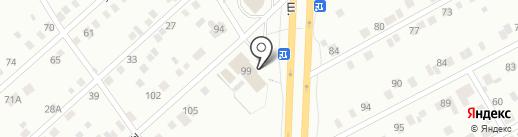 Алкомир на карте Нижнего Тагила