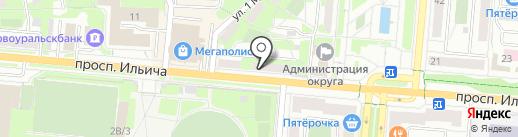 Фэмили Тревел на карте Первоуральска