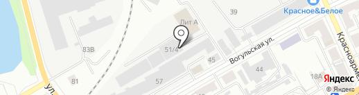Урал-Премьер Трейд на карте Нижнего Тагила