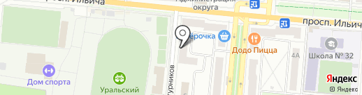 Вояж-плюс на карте Первоуральска