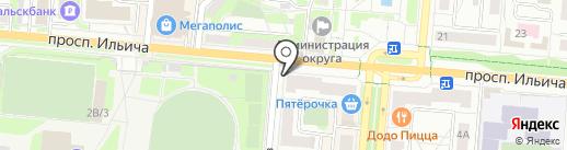 Золотой ларец на карте Первоуральска